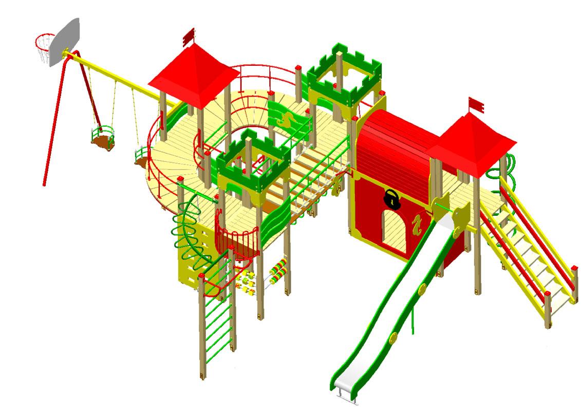 Игровой комплекс С079-1